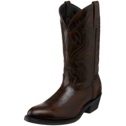 Laredo Men's Paris Western Boot,Antique Tan,11 D US