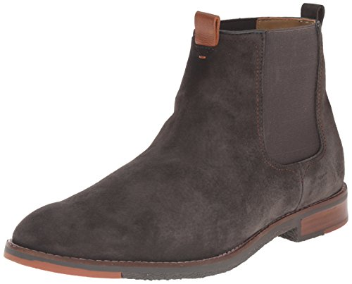 Hush Puppies Men's Thor Hamlin Chelsea Boot, Charcoal, 9.5 M US