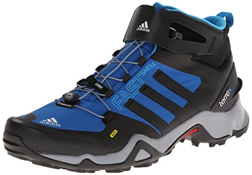 lace up in promo codes arrives Adidas Terrex Fastshell Mid Boot - Men's Blue Bauty / Blck ...