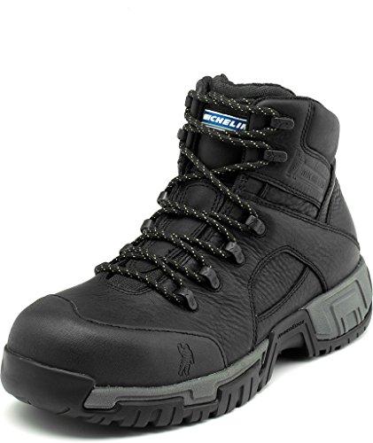 Michelin Men's Hydroedge Steel Toe Boots,Black,10.5 W