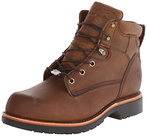Chippewa Men's 6 Inch Bay Apache Rugged Boot,Brown,10.5 3E US