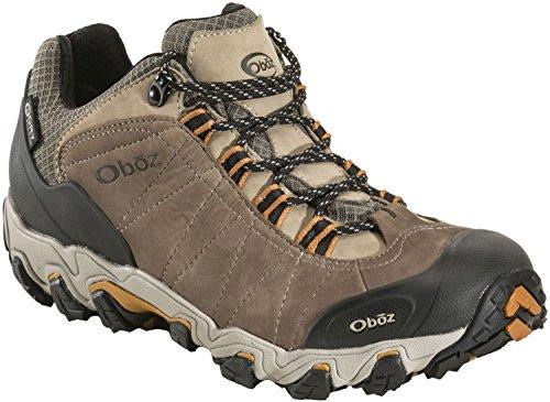 Oboz Bridger Low BDry Hiking Boot – Men's Walnut 9