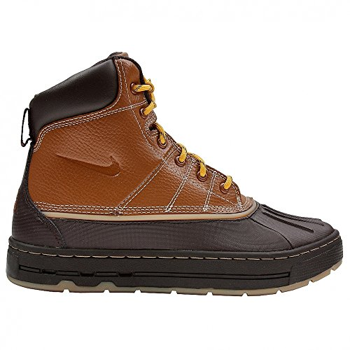 Nike Woodside (GS) ACG Big Kids Boots [415077-200] British Tan/British Tan-Gold Boys Shoes 415077-200-3.5