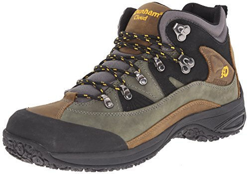 Dunham by New Balance Men's Cloud Mid-Cut Waterproof Boot