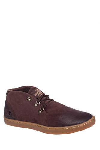 The North Face Men's Base Camp Leather Chukka Demitasse Brown/Moab Khaki Boot 10 D (M)