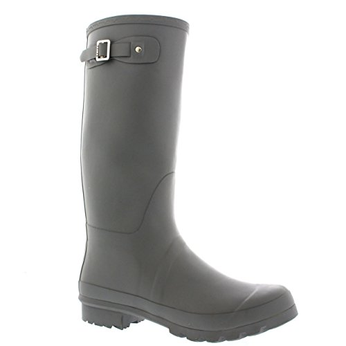 Mens Original Tall Plain Fishing Garden Rubber Waterproof Wellingtons – 10 – GRE43 BL0183