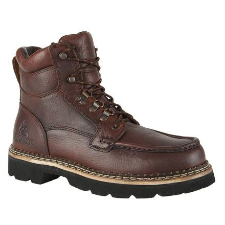 Rocky Men's Cruiser Lace-Up Casual Boot Dk Brown US
