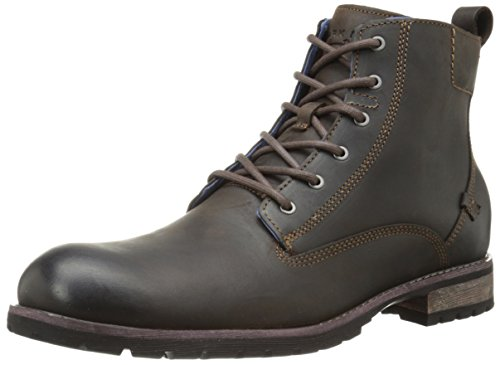 Mark Nason Dagger Collection Men's Barnsley Chukka Boot, Dark Brown, 11.5 M US