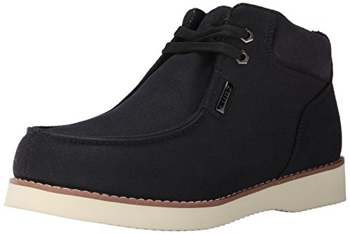 Lugz Men's Odyssey Winter Boot, Black/Cream, 12 D US