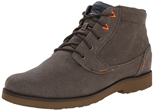Teva Men's M Mason Waxed Canvas Chukka Boot, Turkish Coffee, 9 M US