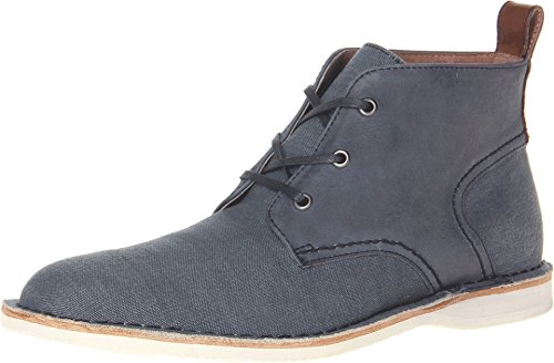 Marc New York by Andrew Marc Men's Dorchester Chukka Avion/White/Cymbal Canvas Boot 8.5 D (M)