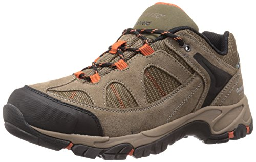 Hi-Tec Men's Altitude Lite Low I WP Chukka Boot, Smokey Brown/Taupe/Red Rock, 10 M US