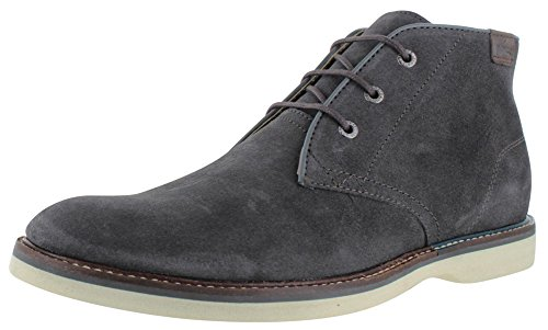 Lacoste Sherbrooke Men's Chukka Leather Boots Gray Size 13