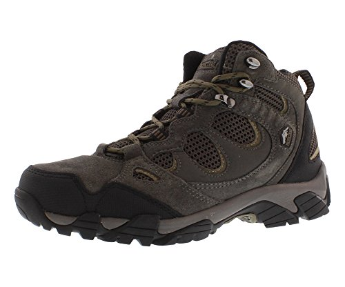 Pacific Trail Men's Sequoia Hiking Boot, Graphite/Black/Olive, 10.5 M US