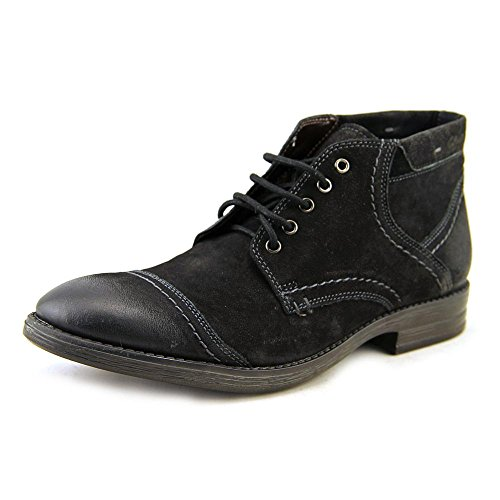 Clarks Men's Delsin Top Ankle Boot,Black,9 M