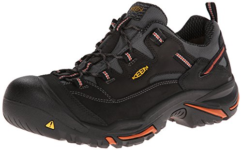 KEEN Utility Men's Braddock Low Steel-Toe Work Boot