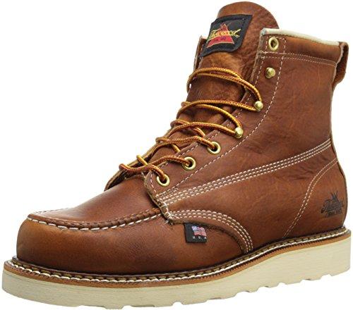 Thorogood 814-4200 American Heritage 6″ Moc Toe Boot, Tobacco, 11.5 B US