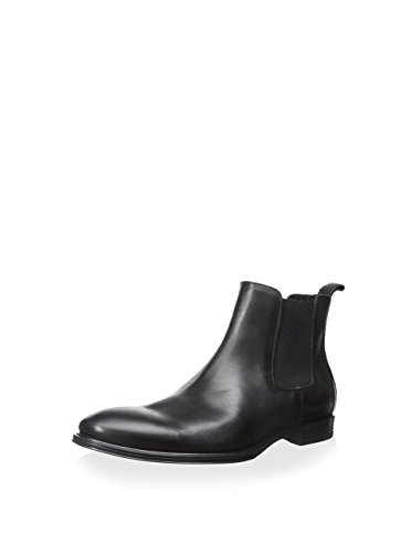Franklin & Freeman Men's Mitchell Plain Toe Chelsea Boot, Black, 9 M