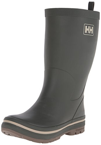 Helly Hansen Men's Midsund 2 Rain Boot, Forest Night/Taupe Grey, 11.5 M US