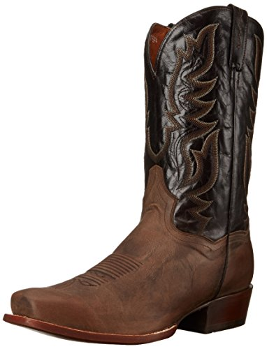 Dan Post Men's Missoula Western Boot, Sand/Chocolate, 11.5 D US