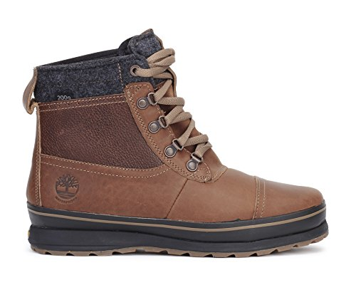 Timberland Men's Schazzberg Mid WP Insulated Winter Boot, Brown, 9.5 M US