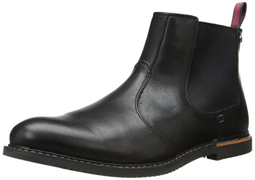 Timberland Men's EK Brook Park Chelsea Boot,Black Smooth,11 M US