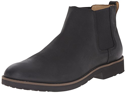 Sebago Men's Rutland Chelsea Boot, Black, 8.5 M US