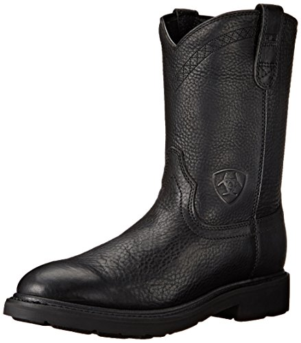 Ariat Men's Sierra Work Boot, Black, 10 M US