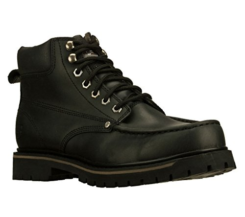 Skechers Bruiser Mens Ankle Boots Black 11
