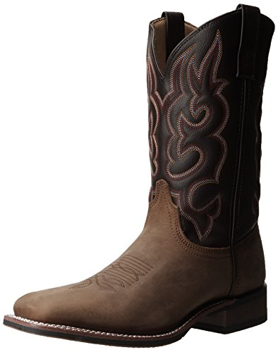 Laredo Men's Lodi Western Boot,Taupe/Chocolate,12 D US
