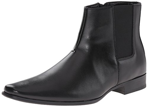 Calvin Klein Men's Brogan Boot, Black, 12 M US