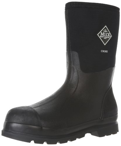 The Original MuckBoots Adult Chore Mid Boot,Black,Men's 9 M/Women's 10 M