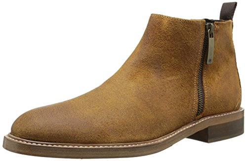 Donald J Pliner Men's Zeus Chelsea Boot, Saddle Treated Suede, 9.5 M US