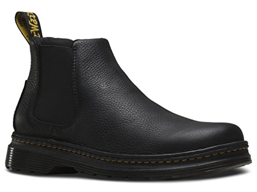 Dr. Martens Men's Oakford Chelsea Fashion Boots, Black Leather, 9 M UK, 10 M US