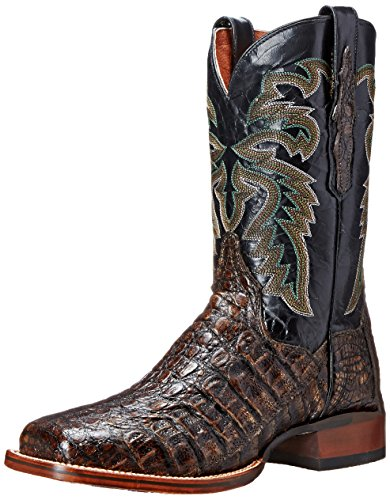 Dan Post Men's Everglades SQ Western Boot, Brown, 10 XW US