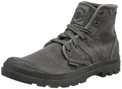 Palladium Men's Metal/Black Pallabrouse 13 D(M) US