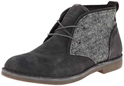 MARC NEW YORK Men's Stanton Chukka Boot,Silverfox/Gum,8.5 D US