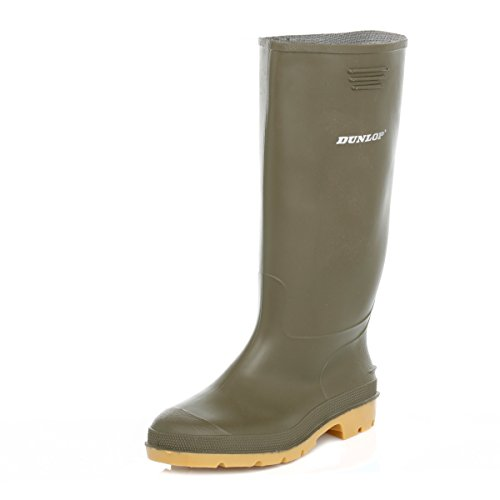 Dunlop Centurion Green Wellington Boots-UK 11