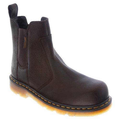 dr martens chelsea boots steel toe