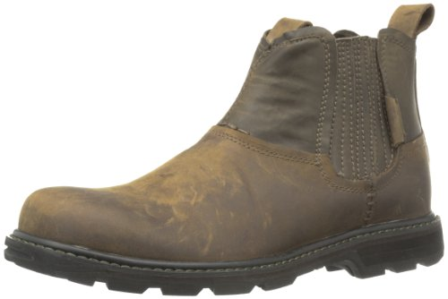 Skechers USA Men's Blaine Orsen Ankle Boot,Dark Brown,10.5 M US