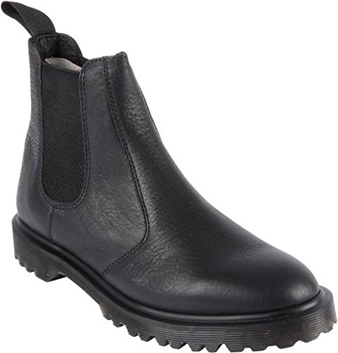 Dr. Martens Men's 2976 Chelsea Work Boots, Black Leather, 13 M UK, 14 M US