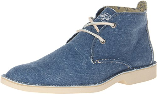 Sperry Top-Sider Men's The Harbor Chukka Canvas Navy Canvas Boot 10.5 M (D)