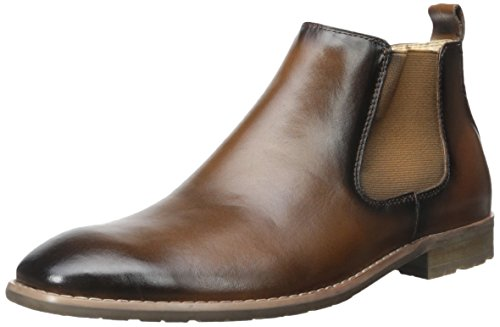 Steve Madden Men's Erwynn Chukka Boot, Tan, 12 M US