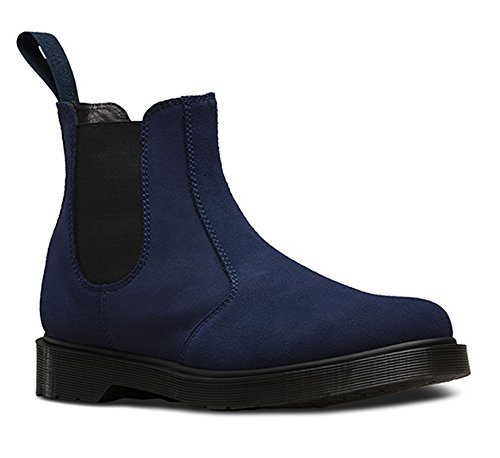 Dr. Martens Men's 2976 Chelsea Fashion Boots, Navy Leather, 7 M UK, 8 M US