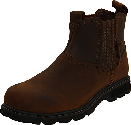 Skechers USA Men's Blaine Orsen Ankle Boot,Dark Brown,10 M US