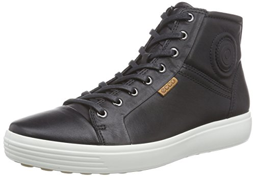 ECCO Men's Soft VII Chukka Boot, Black, 43 EU/9-9.5 M US