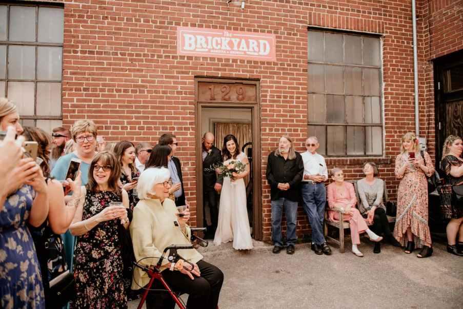 Bride Ceremony Bricks