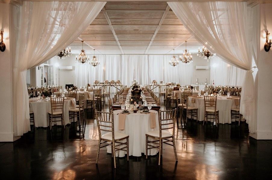 Wedding reception at little river farms in Alpharetta