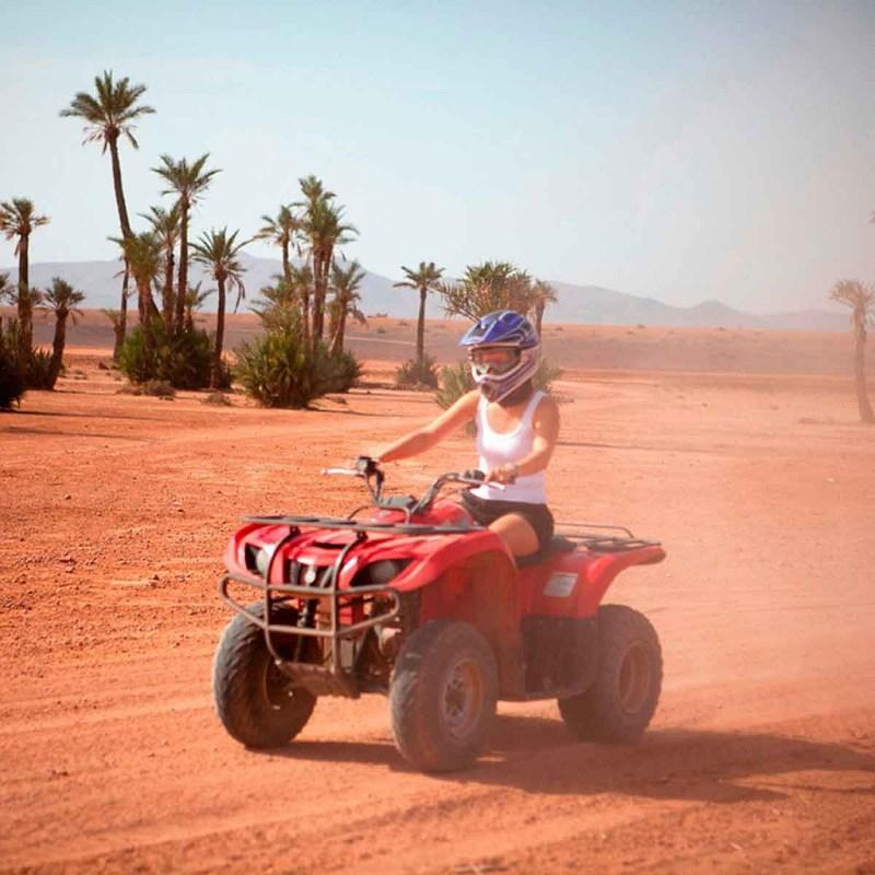 quad bike in Marrakech