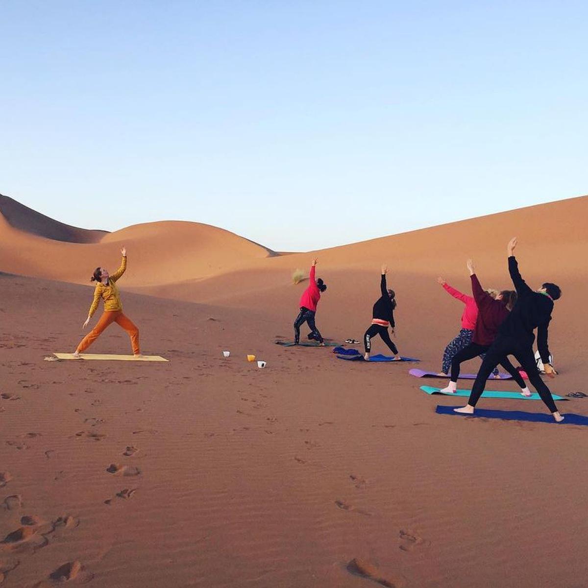 yoga morocco trips